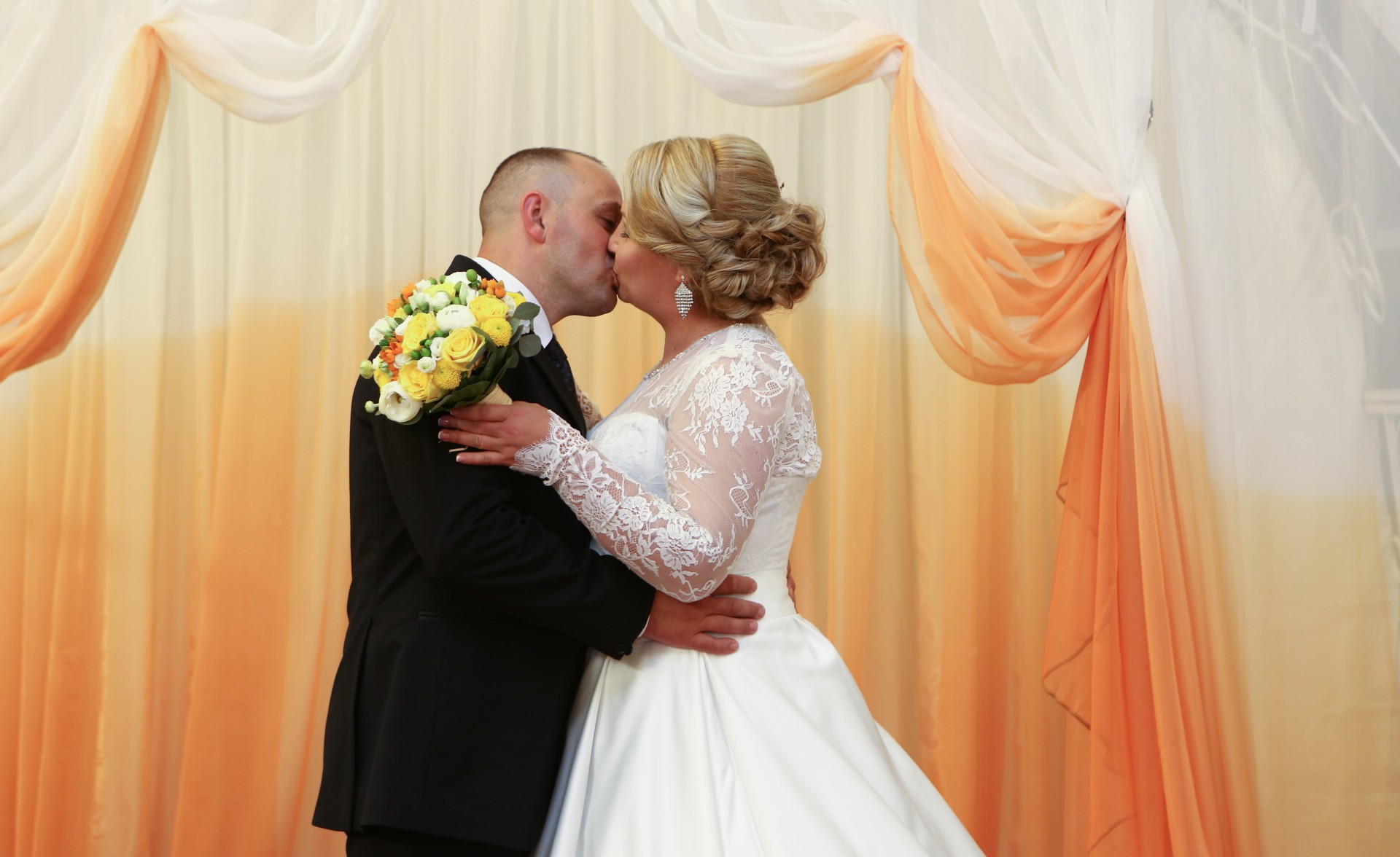 O nuntă de vis pentru doi soţi din Bulboaca