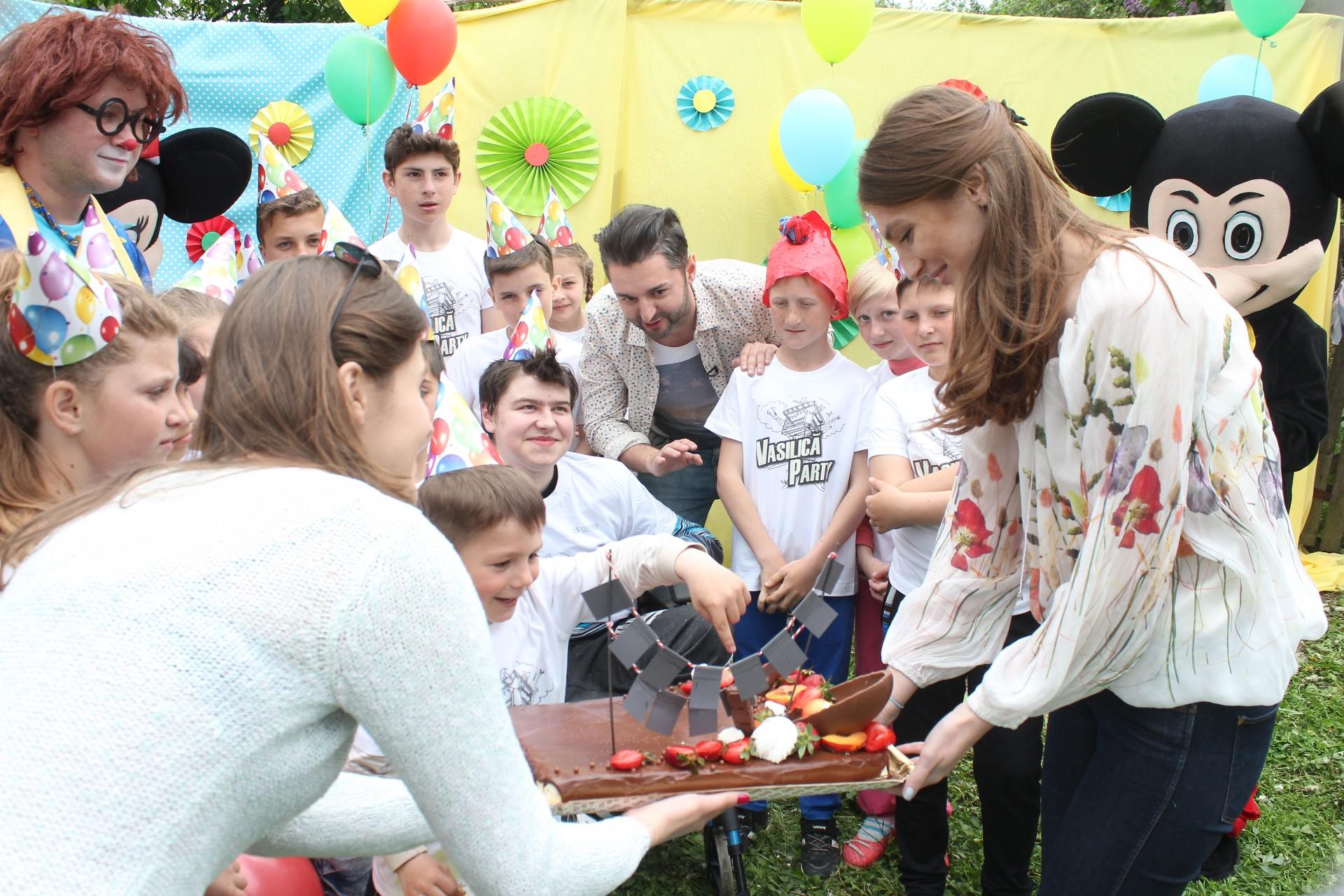 Vasilică Party, la Sipoteni